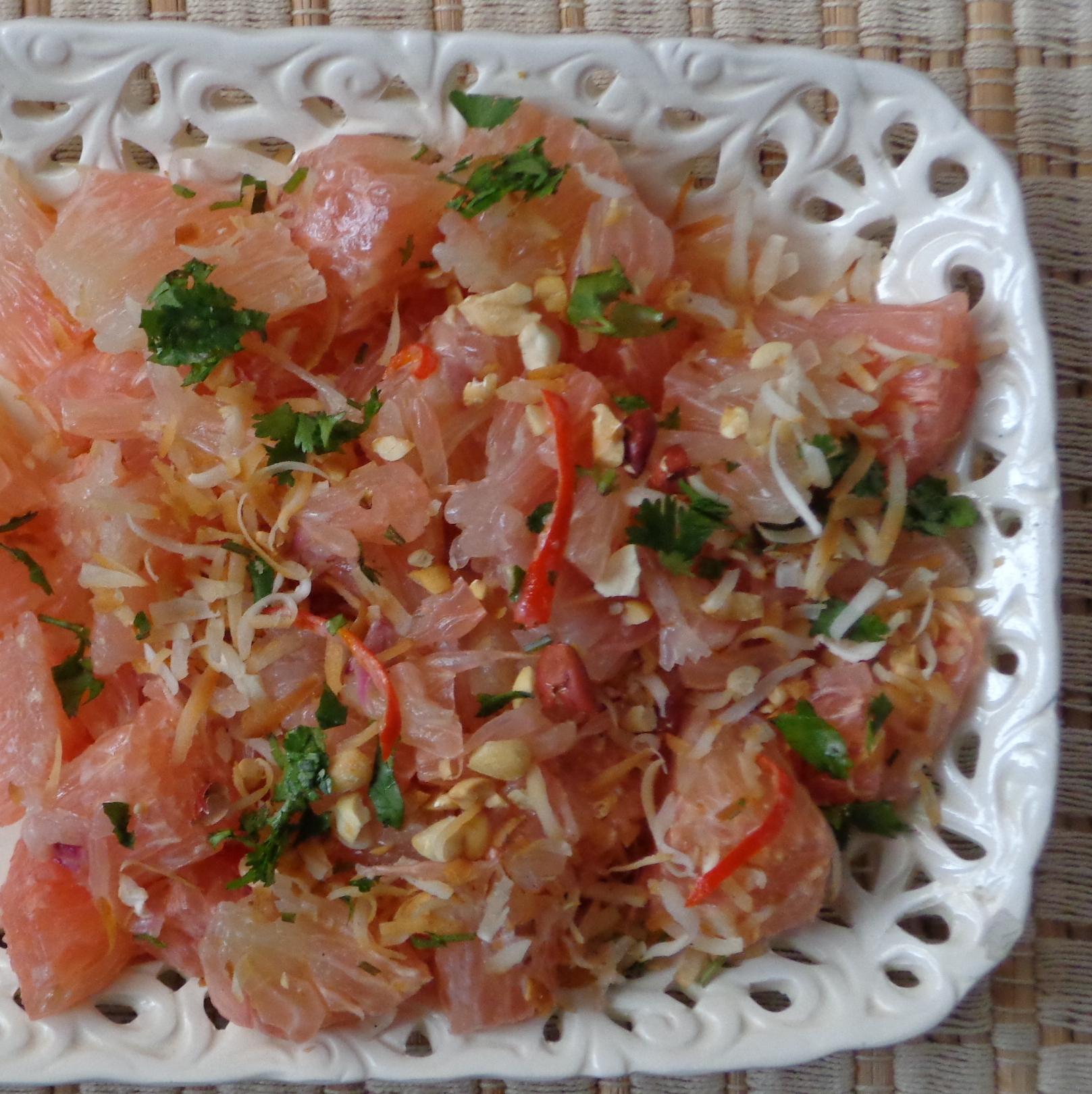 Pomelo Salad Vegetarian Thai Pomelo Salad